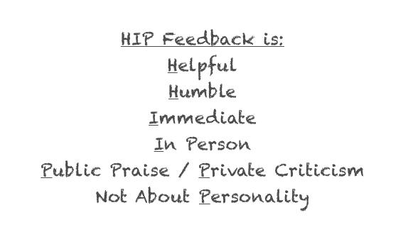 Hip Feedback