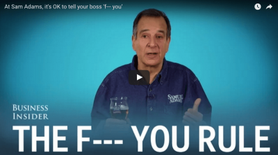 Video: Sam Adams And The FU Rule