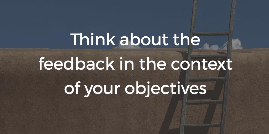 feedback objectives