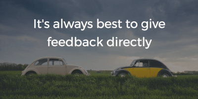 What To Do When A Peer's Feedback Annoys You
