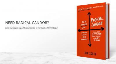 Send Your Boss Radical Candor