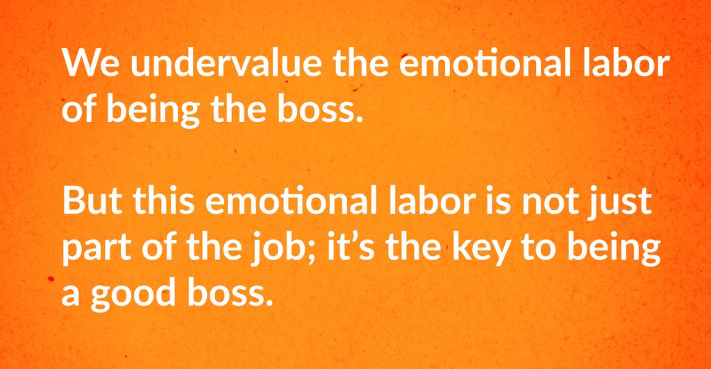 emotional labor