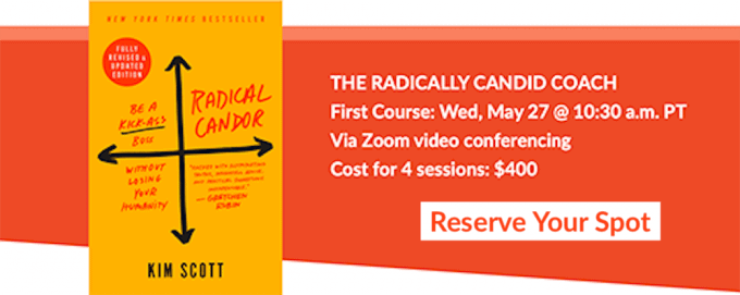 Radical Candor Coach